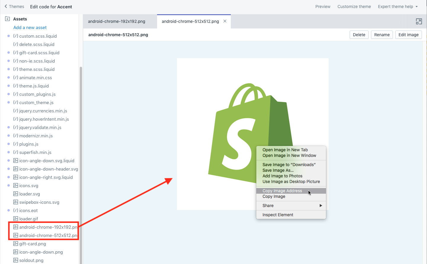 Add Favicons and App Icons for Shopify | Suture